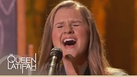 "Lizzie Performs ""Butterfly"" on The Queen Latifah Show"