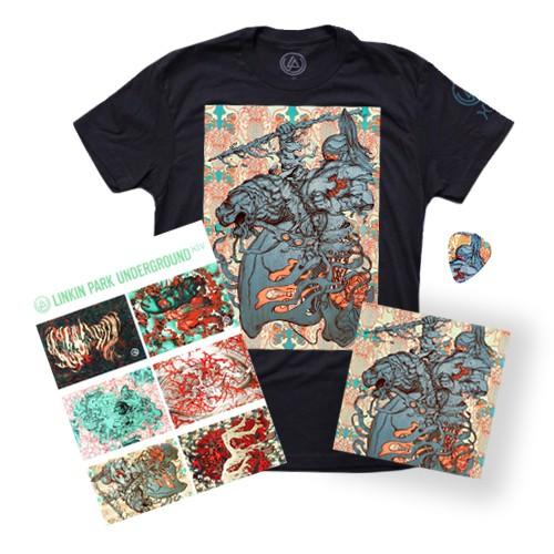 LPU 14 Bundle (T-Shirt + CD + Sticker Sheet + Guitar Pick)