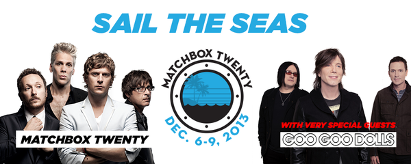 Welcoming Goo Goo Dolls To Join The Matchbox Twenty Cruise