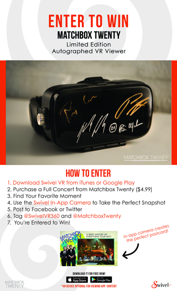 Win a Limited Edition Autographed VR Viewer