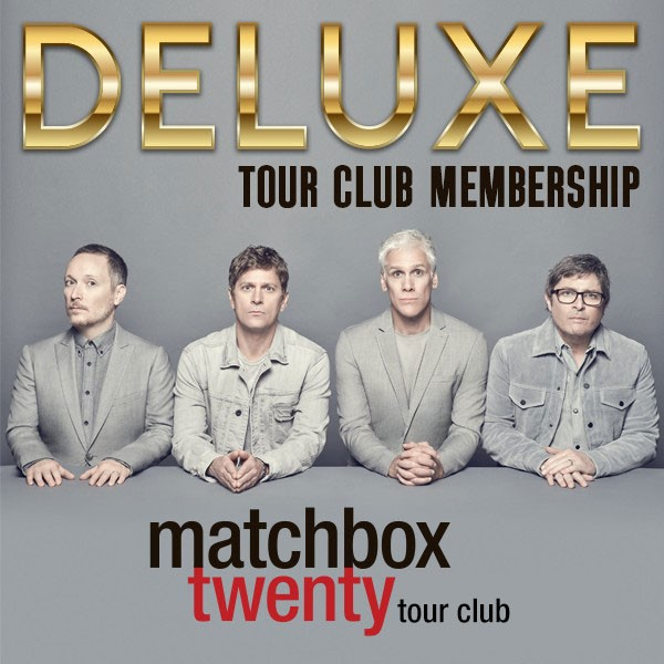 Matchbox Twenty DELUXE Tour Club Membership image