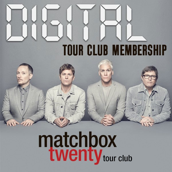 Matchbox Twenty DIGITAL Tour Club Membership image