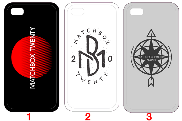 Matchbox Twenty iPhone Case