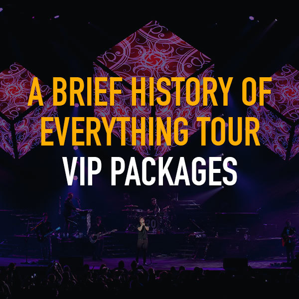 Matchbox Twenty 2017 VIP Packages
