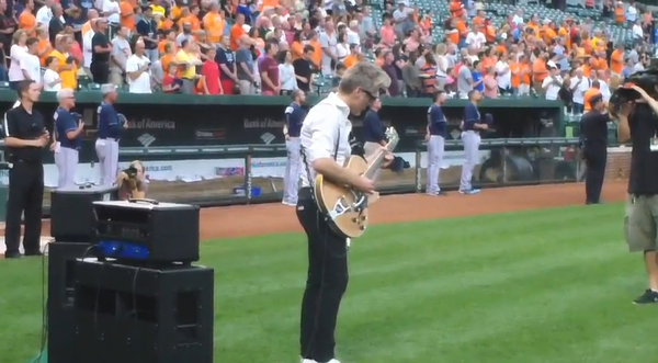 Video from Camden Yards