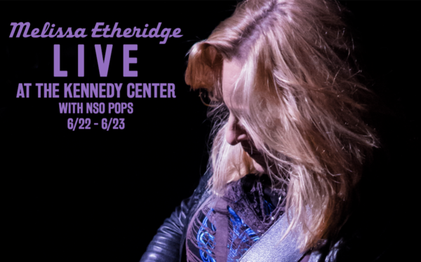 Melissa Etheridge LIVE with National Symphony Orchestra!