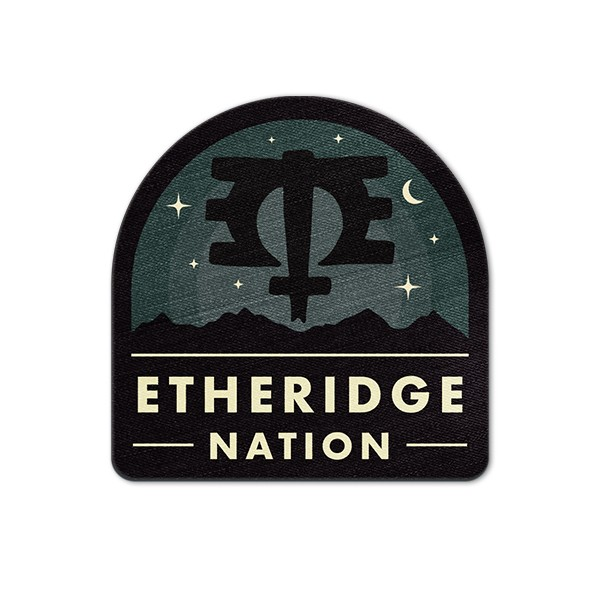 2019 Etheridge Nation Badge Logo Patch