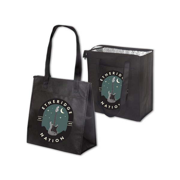 2019 Etheridge Nation Guitar Logo Insulated Grocery Bag