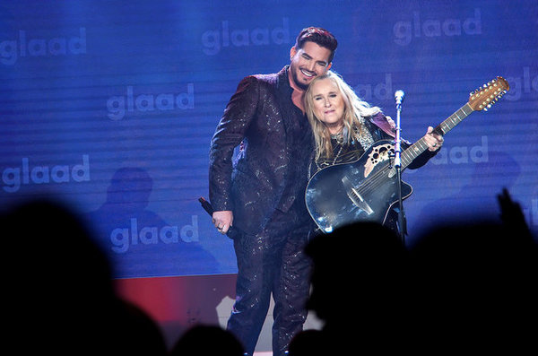 Melissa & Adam Tear It Up At The GLAAD Awards!