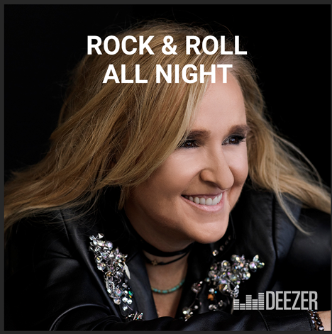 Melissa Featured on Cover of Deezer's Rock & Roll All Night Playlist