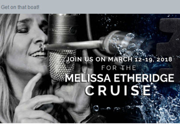 Cruise With Melissa in 2018!