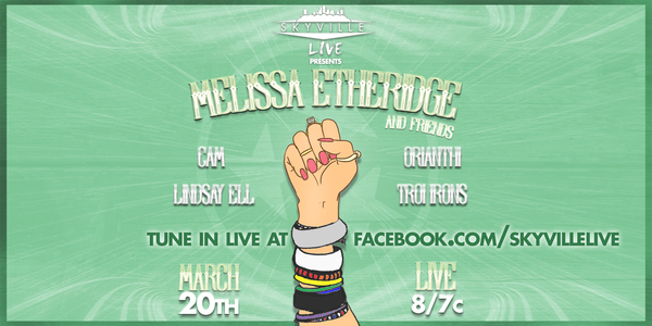 Melissa performs live on Skyville Live