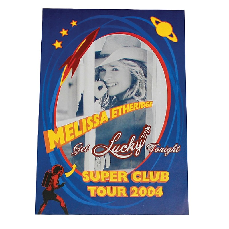 Get Lucky Tonight Super Club 2004 Poster