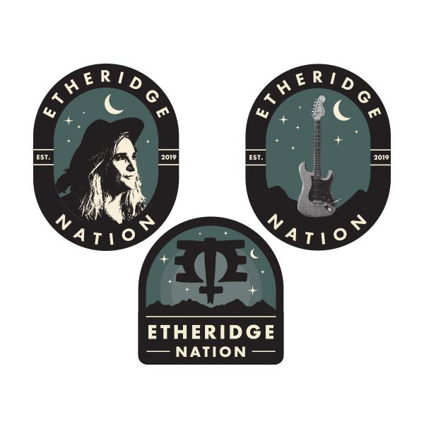 2019 Etheridge Nation Sticker Pack