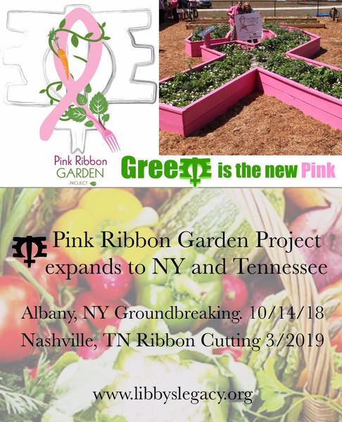 The Pink Ribbon Garden Goes National!