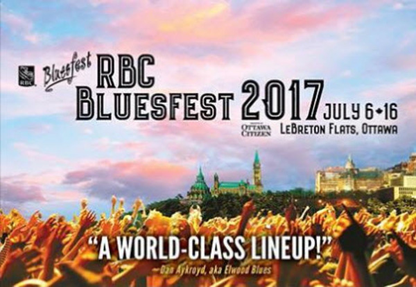 Melissa's Headed To Ottawa Bluesfest!
