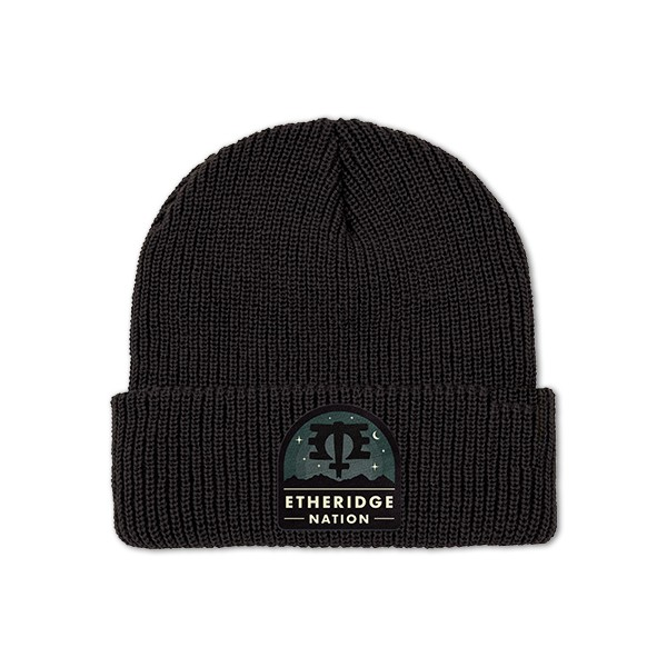 2019 Etheridge Nation Badge Logo Beanie
