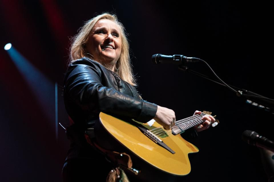 LONDON, ENGLAND - FEBRUARY 22: Melissa Etheridge performs at O2 Indigo on February 22, 2019 in London, England. (Photo by Lorne Thomson/Redferns)