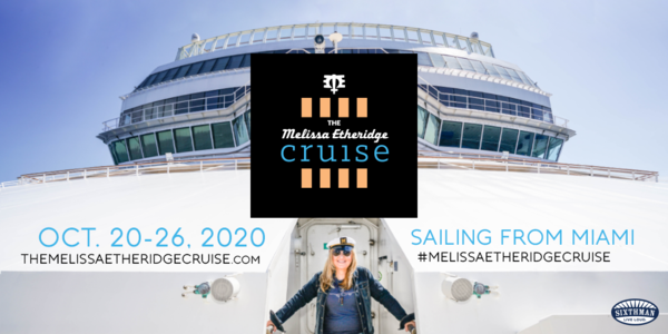 2020 Melissa Etheridge Cruise - Save the date!