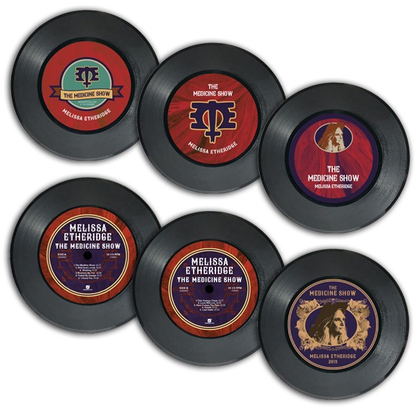 The Medicine Show Vinyl Coaster Set