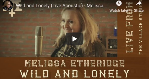 "Watch Melissa Etheridge Perform Intimate Acoustic Version of ""Wild and Lonely"""