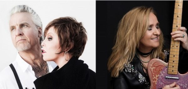 Pat Benatar & Neil Giraldo, Melissa Etheridge Performing at Mid-State Fair