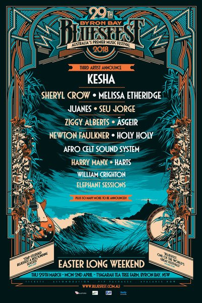 Melissa to perform at the 2018 Bluesfest in Australia