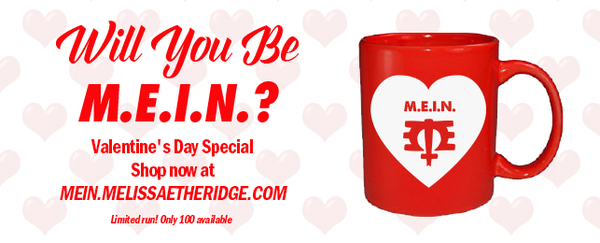 Will You Be M.E.I.N.? Valentine's Day Mug