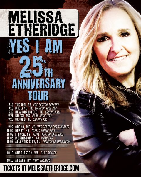 Yes I Am 25th Anniversary Tour!