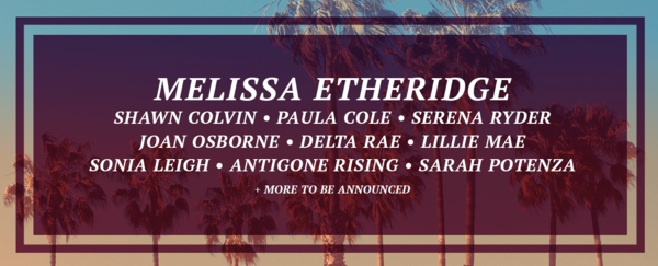 The Melissa Etheridge Cruise Lineup