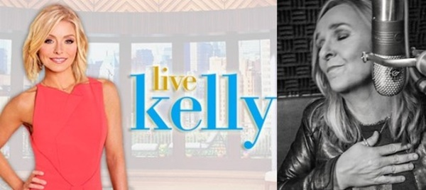 Contest Alert! See Melissa appear on Live with Kelly!