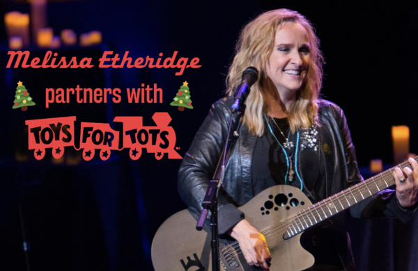 Melissa Etheridge Partners With Toys For Tots