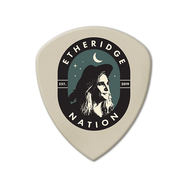 2019 Etheridge Nation Primary Logo Guitar Pick