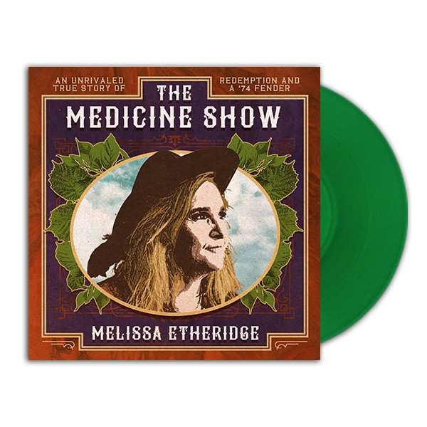 The Medicine Show Green Vinyl Record image