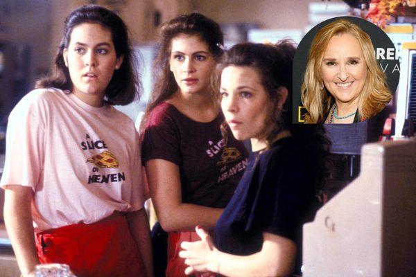Melissa Etheridge at Work on Mystic Pizza Musical