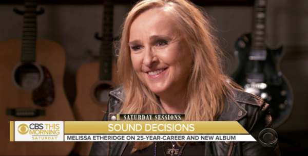 Melissa on CBS This Morning