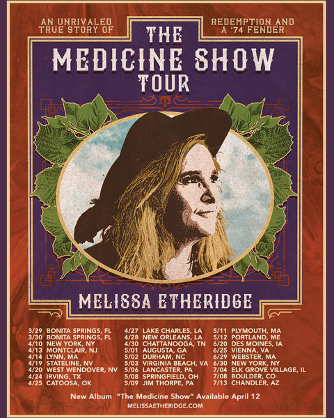 The Medicine Show Tour Dates + Artwork Released