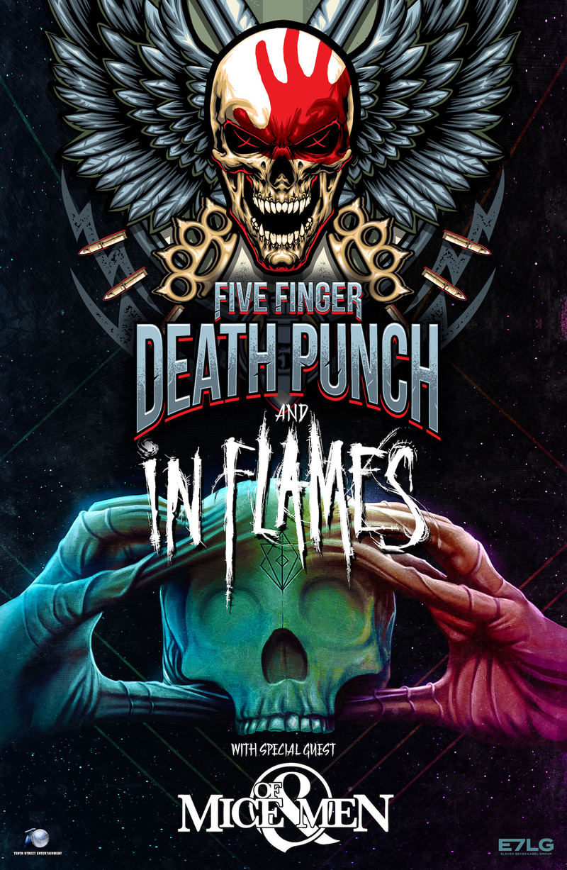 Of Mice Men To Tour With Five Finger Punch In Flames