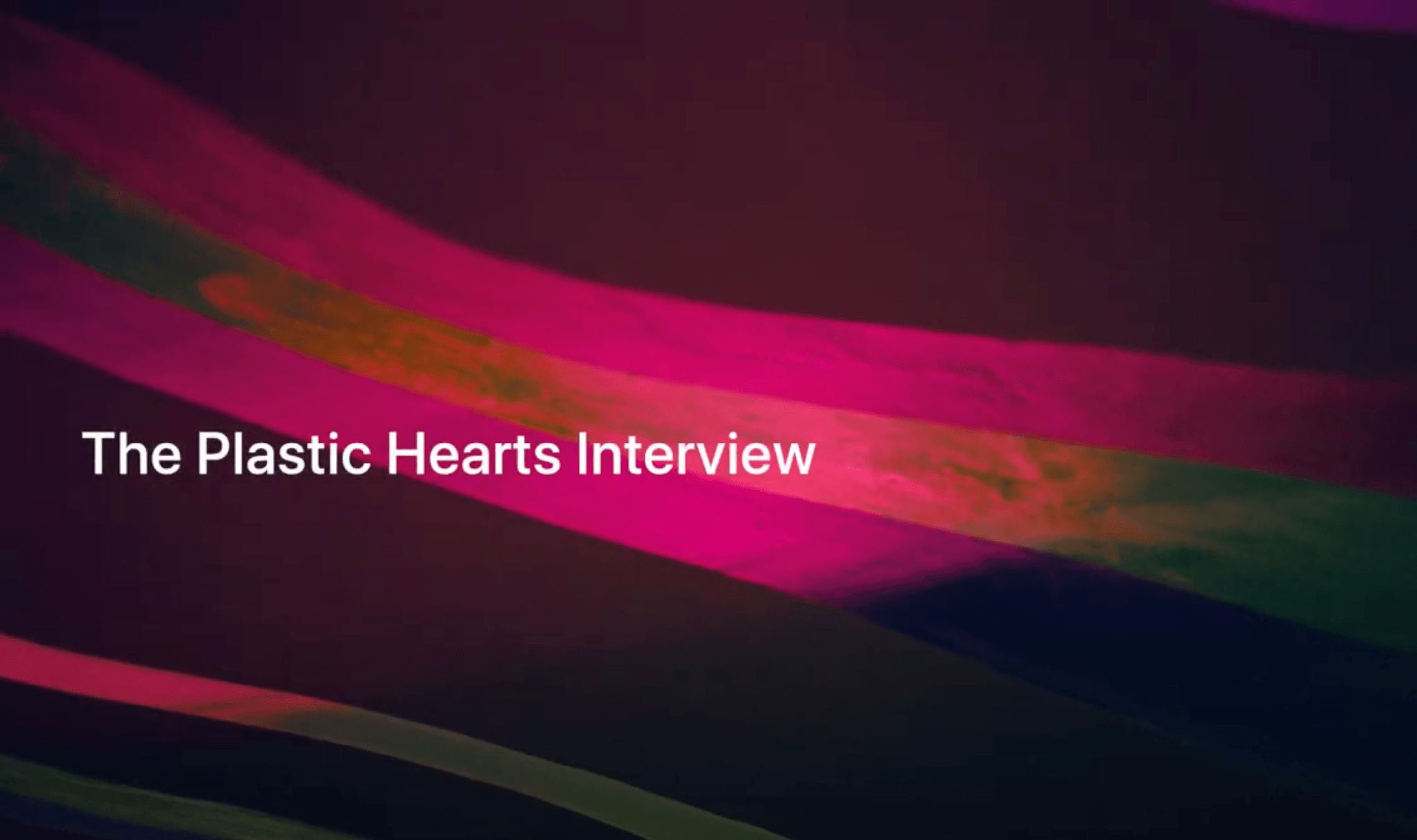 News article image Apple Music 'Plastic Hearts' Interview w/ Zane Lowe