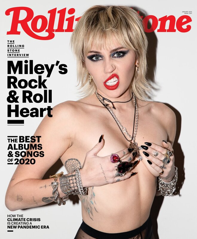 Miley Feature in Rolling Stone