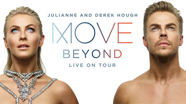 JULIANNE & DEREK HOUGH ANNOUNCE 'MOVE — BEYOND — LIVE ON TOUR'