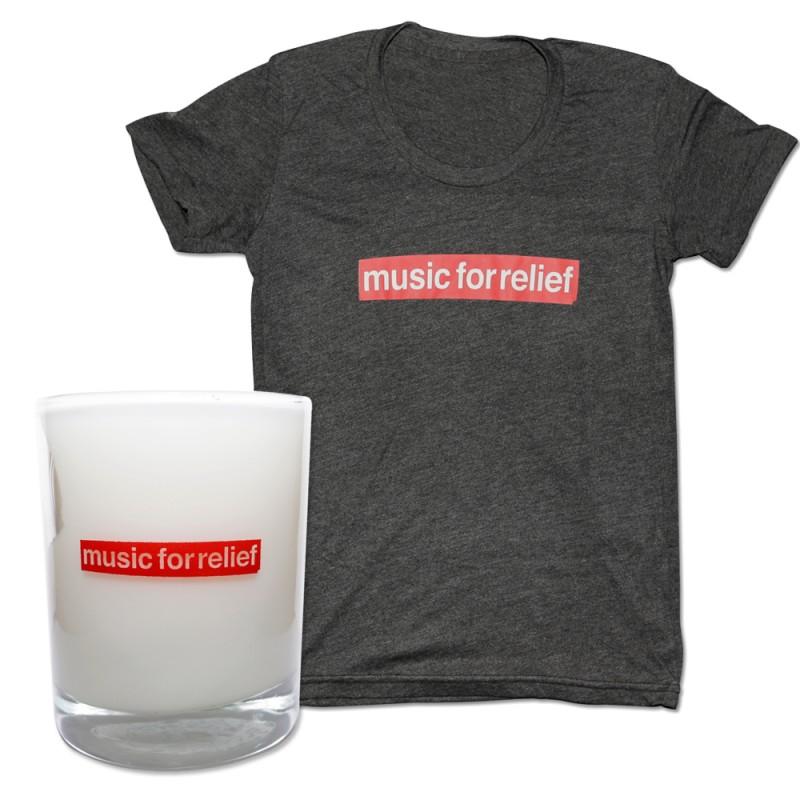 T-Shirt (Women's) + Candle