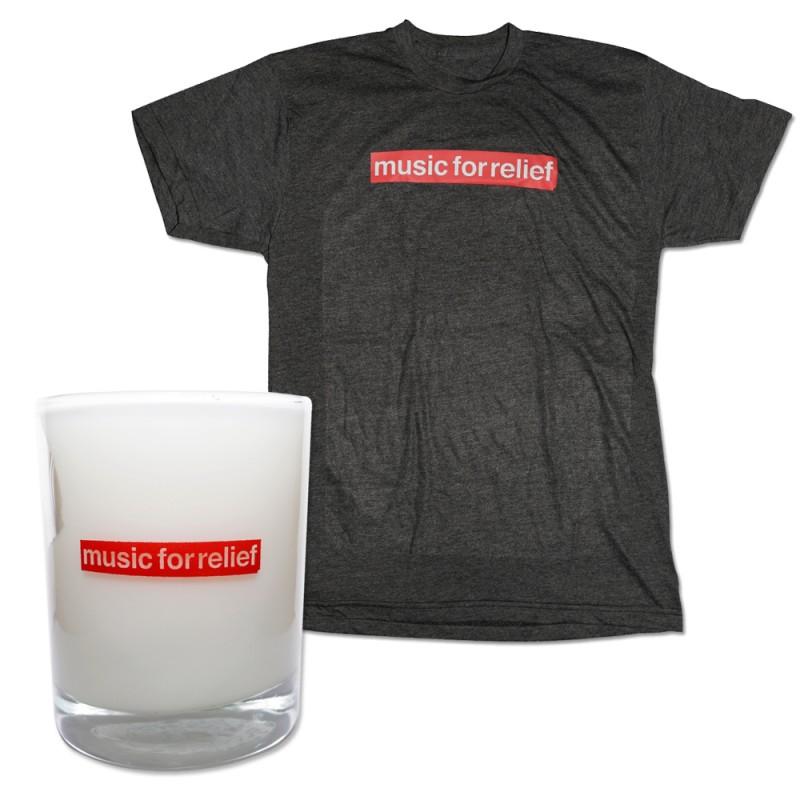 T-Shirt (Men's) + Candle