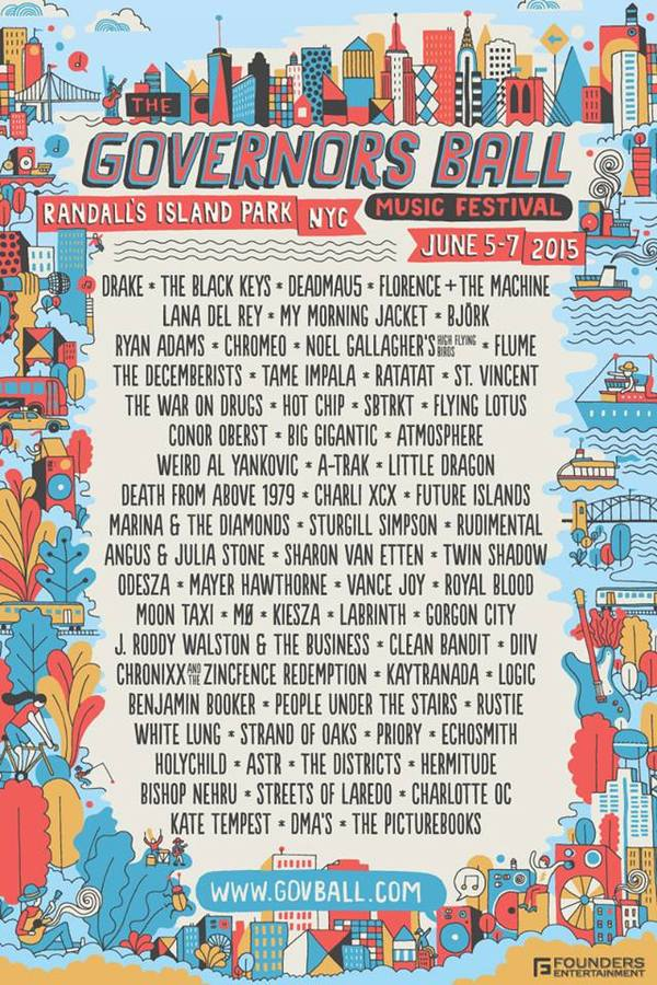 Announcing Governors Ball 2015!
