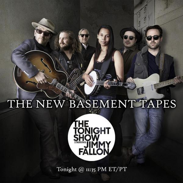 The New Basement Tapes First-Ever Live Performance Tonight!