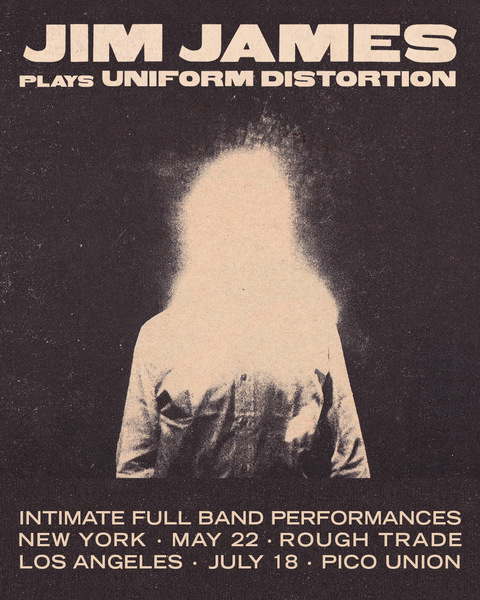 "Jim James Plays ""Uniform Distortion"" in New York and Los Angeles"