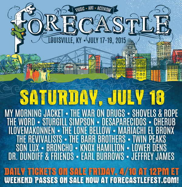Forecastle Daily Lineup Announce