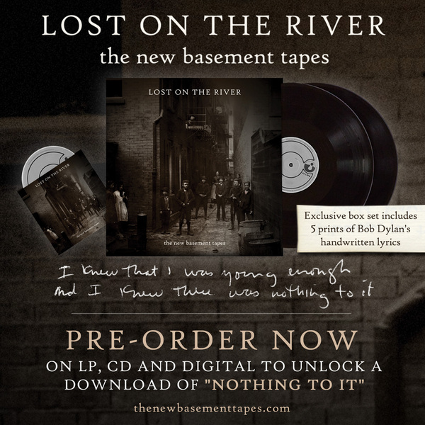 The New Basement Tapes Tracklisting & Pre-order