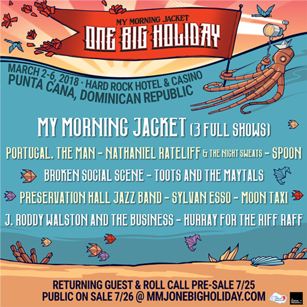 My Morning Jacket One Big Holiday