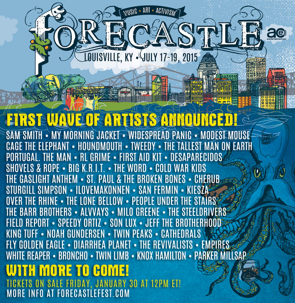 Forecastle 2015 Lineup Announce